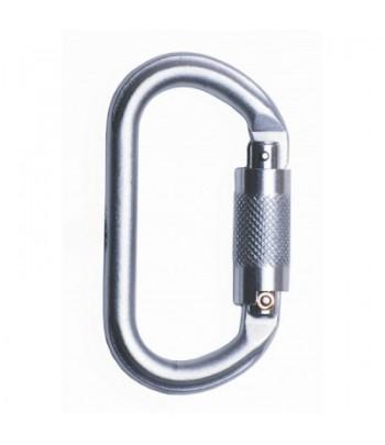 Moschettone twist lock