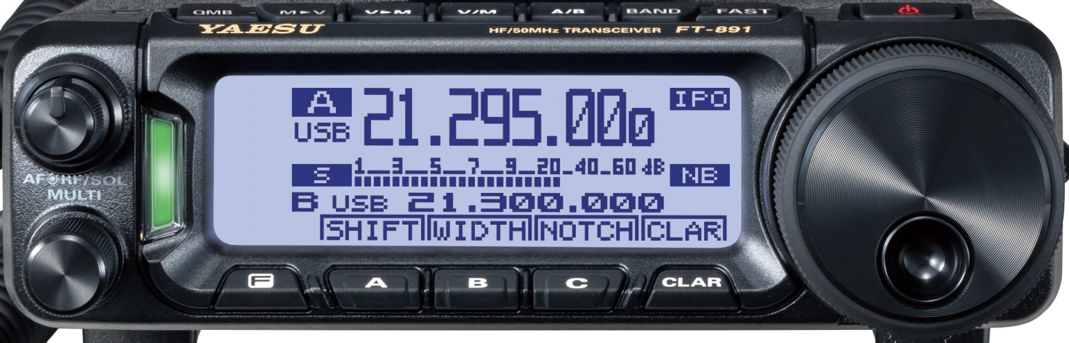 FT-891 frontale